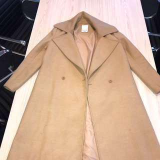 C/MEO Camel Trench Style Coat