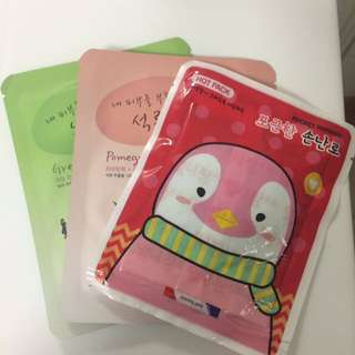Pocket Warmer With Face Masks