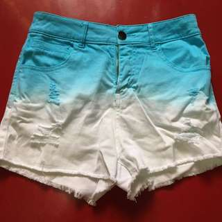 Ombre Shorts HIGHWAISTED