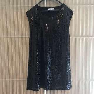 Black Blinky Dress