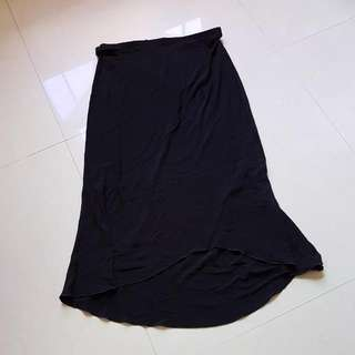 Giordano Ladies Long Black Skirt