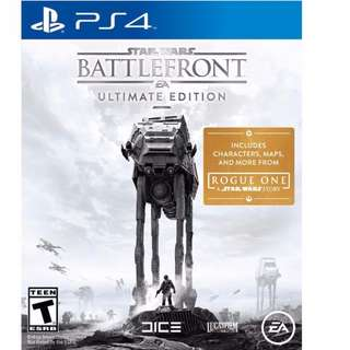 [BNIB] Star Wars Battlefront Ultimate Edition PS4