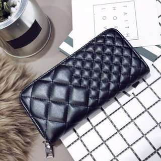 FRITZIE GAIL (Quilted Clutch Wallet)