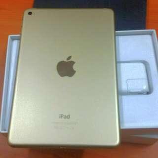 RUSH Ipad Mini 4 64gb Gold