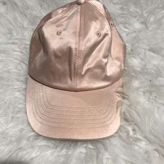 Urban Outfitters Pink Silk Hat