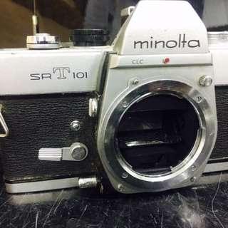 Vintage Camera  Minolta SRT 101  1966 - 1981