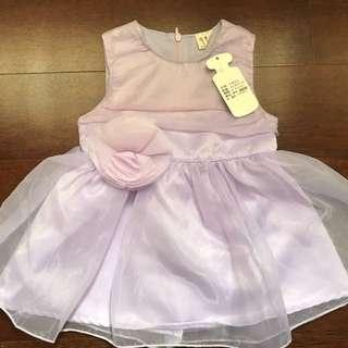 🚚 小小孩 紫色超美蓬蓬裙洋裝