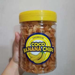 Premium Coco Banana Chips (240grams)
