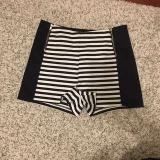 High Waisted Shorts Size Medium