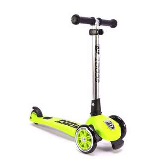 Brand New Scoot & Ride Highway Kick 3 - (Lime)