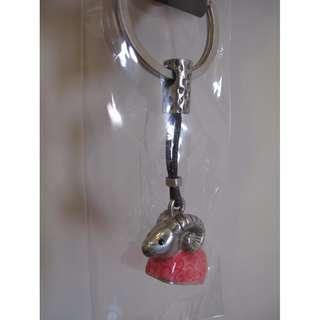 羊羊得意鑰匙圈 喜羊羊 羊 造型 鑰匙圈 (全新)