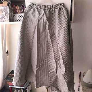 Striped Beach Skirt