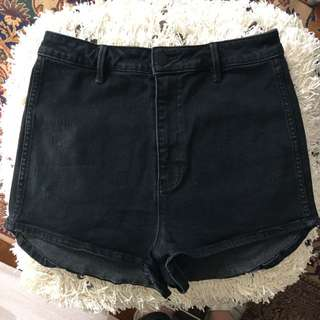 Rolla's High Waisted Denim Shorts