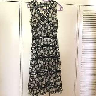 Long Sleeveless Sun Dress