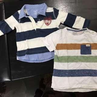 Set Of 2 Baby Boy Shirts