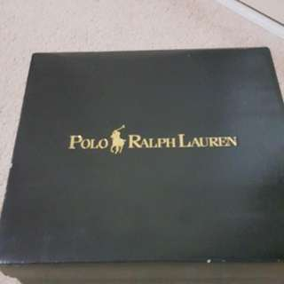 Authentic Ralph Lauren Tavin Leather Toddler Boots