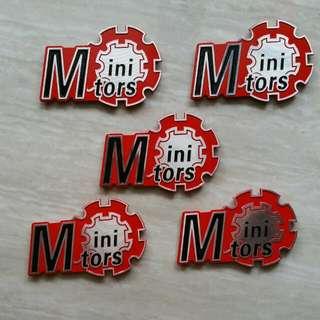 Minimotor Brand Decals