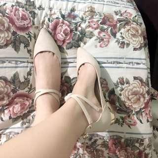 Authentic Aldo Point Head Ballet Shoes