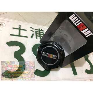 Ralliart Black Oil Cap