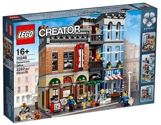 【阿樂の天地】Lego 樂高 10246 Creator系列 偵探事務所