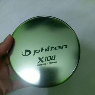 Phiten的鐵盒
