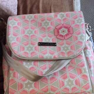 petunia pickle bottom Glazed Boxy Backpack Blooming Brixham Diaper Bag