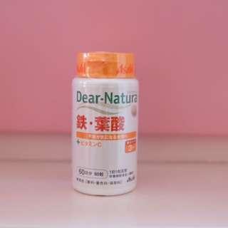 Asahi 鐵+葉酸 Supplement
