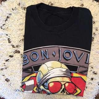 Bon Jovi 1989 Muscle Tee