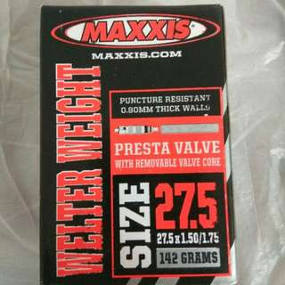 MAXXIS 27.5x1.50-1.75 WELTER WEIGHT TUBES 輕量內呔