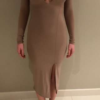 Missguided Nude Dress
