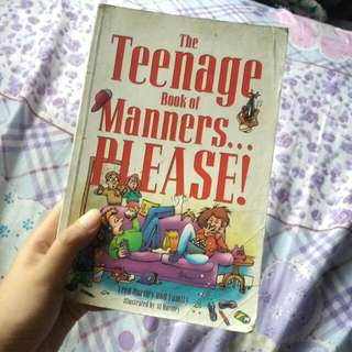The Teenage Book of Manners by Fred Harley