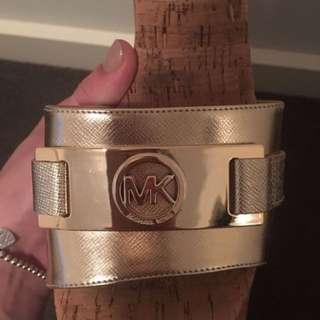 Michael Kors Cork Sandals Size 8.5