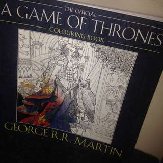 A Game of Thrones Colouring Book!