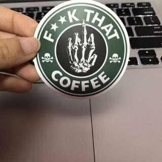 Sticker- Starbucks