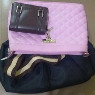 Bundle A (sling Bags And Wallet)