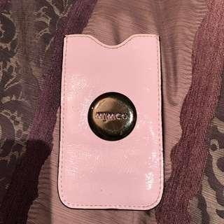 Iphone 5 phone case in mauve