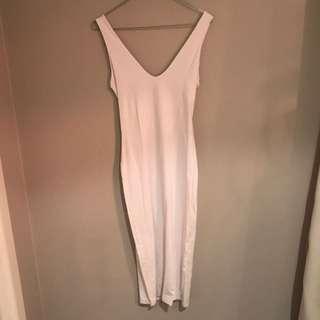Kookai White Knee Length Dress