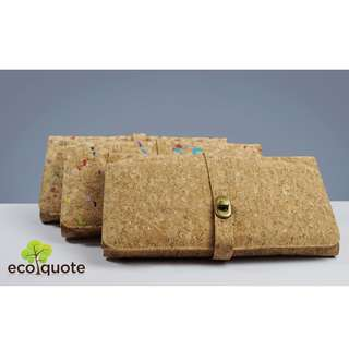 EcoQuote Elegance Evening Sling Clutch Handmade Cork Material