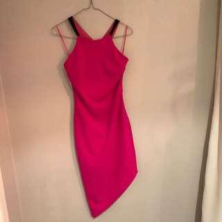 Fresh Soul Magenta Dress