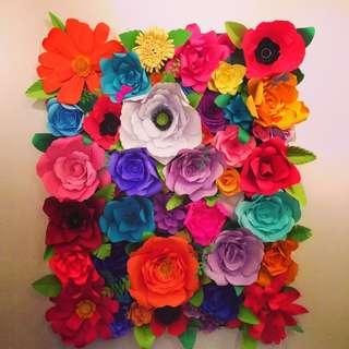 handmade paper flower
