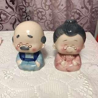老公老婆存錢筒#送禮#情人節