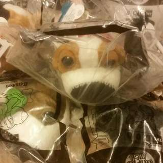 2006 Mc Donald Toys Unopened The Dog Artlist Collection X 12