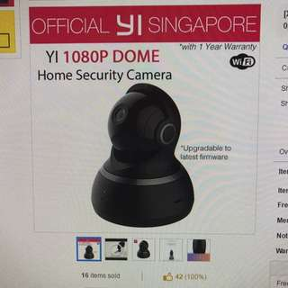 New Xiaoyi Dome Cam 2 / 1080p