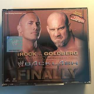 [VCD] Backlash (2003) Including Bonus VCD The Video Ramped Up Vol.1