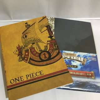One Piece Drawing/Notebooks (anime)