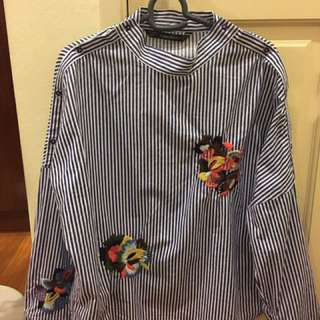 Authentic Zara Blouse