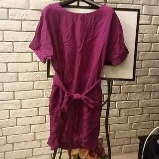 Purple red onepiece (順豐包郵)