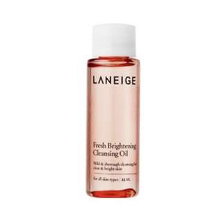 Laneige Fresh Brightening Cleansing Oil 30ml