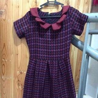 Tri-collared Dress ❤️