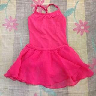 Fuschia Ballet Outfit